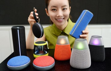 LG Unveils Lightweight Waterproof Bluetooth Speakers