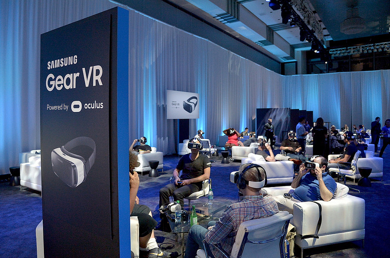 2015 Oculus Connect 2 event in Los Angeles. (image: Samsung Electronics)