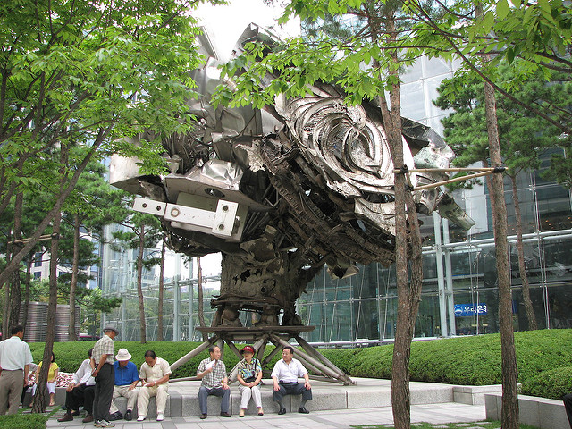 POSCO's Artwork Chosen as One of the Most Hated Public Sculptures in the World
