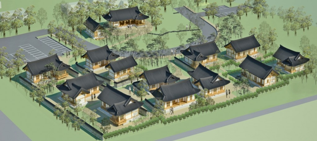 """The village will also be equipped with supplementary facilities where visitors can learn tea etiquette, experience """"seodang,"""" traditional village school and folk games as well as enjoy performances of traditional Korean music. (image: Ministry of Culture, Sports and Tourism)"""