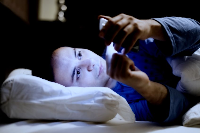 """""""Exposing oneself to artificial lights can lead to lethargy, insomnia, and fatigue, which can decrease the overall quality of life, and bring about physical and mental complications."""" (image: KobizMedia/ Korea Bizwire)"""