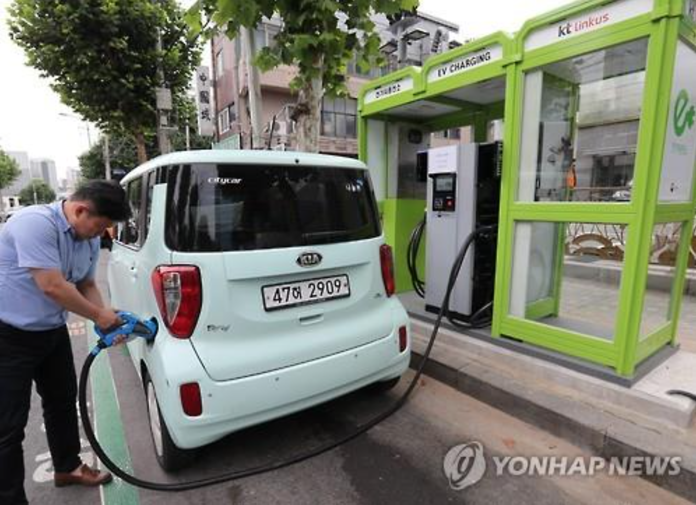 S. Korea to Invest 200 Bln Won This Year to Expand EV Charging Infrastructure