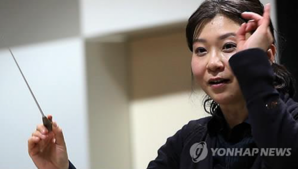 """We don't know how AI will influence our lives in the future. But I always thought music was something that needs inspiration. And I can't wait to find out what the audience will think (of Howell's music)."" (image: Yonhap)"