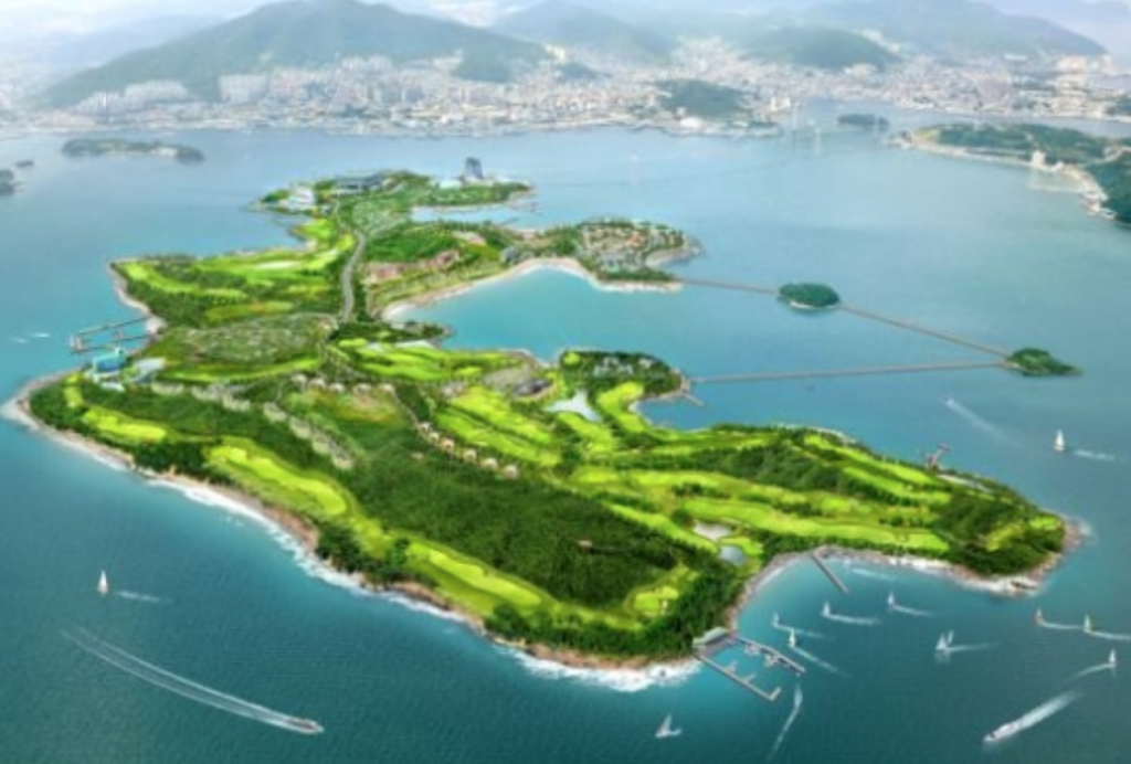 It has so far been revealed that Mirae Asset plans to build Asia's finest 'healing resort', which will hopefully establish the foundation for future development of the region into a major marine tourism cluster. (image: Mirae Asset)