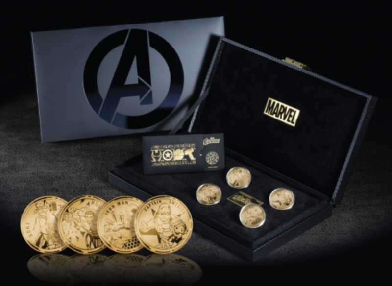 Korean Convenience Store to Sell Limited Edition Avengers Gold Medals