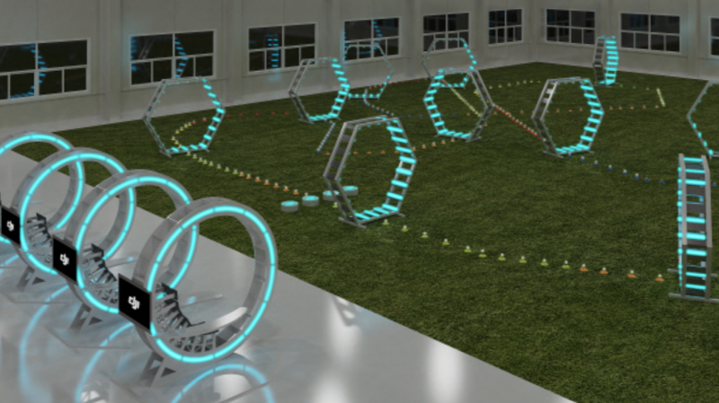 DJI Opening Indoor Drone Arena in Korea
