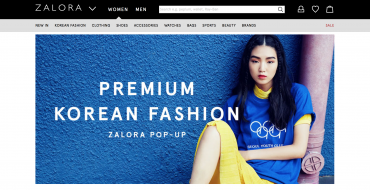 K-Fashion Shop Opens on Southeast Asia's Top Fashion Portal