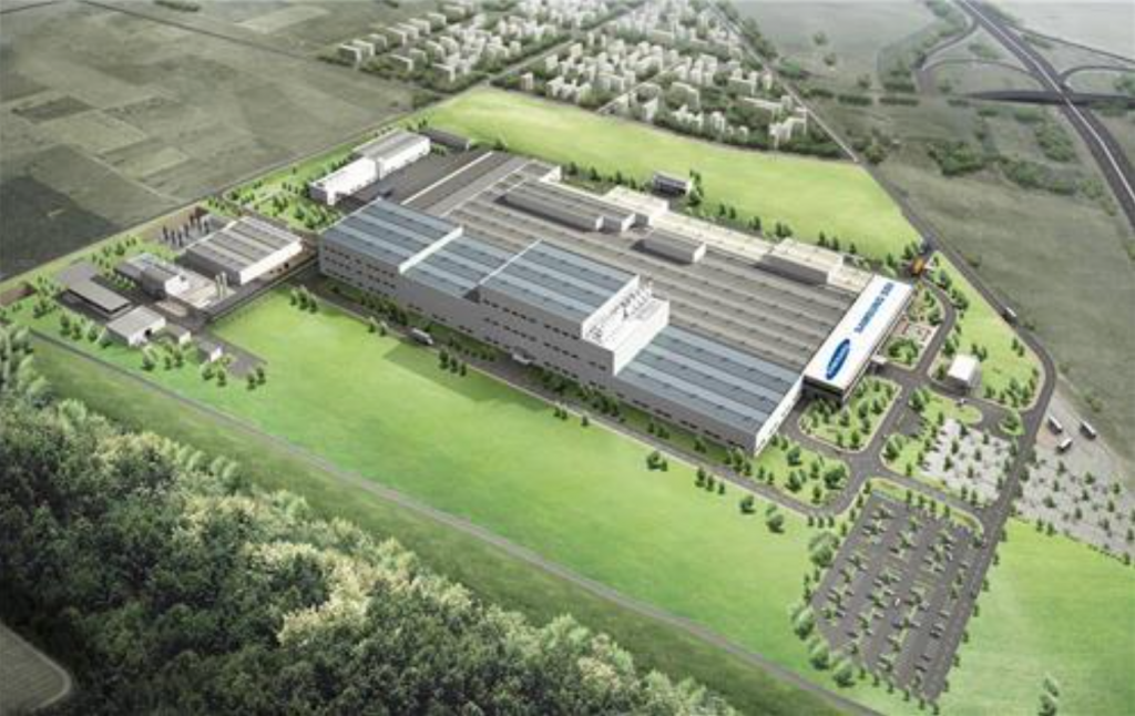 The new factory will be fully operational in the second half of 2018, Samsung SDI said in a statement. (image: Yonhap)