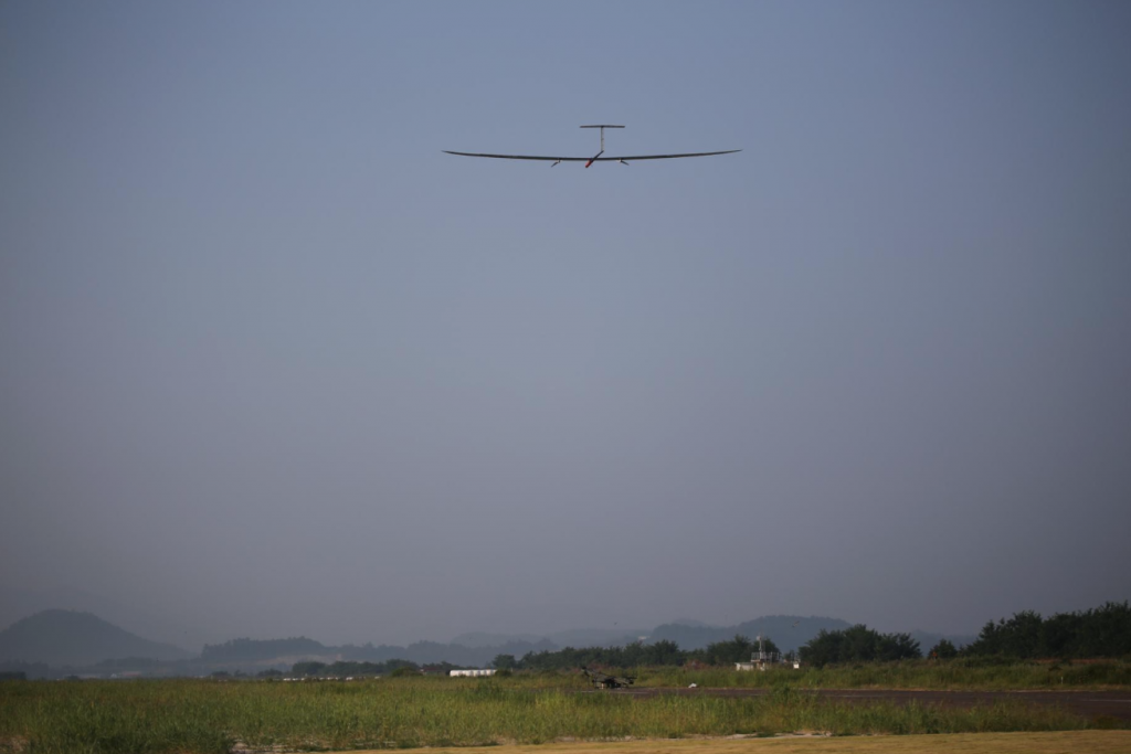 High-altitude solar-powered UAVs can be used in various missions, including ground and weather observation, communications, and transmission, at a much lower cost and with fewer environmental consequences compared to satellites. (image: KARI)