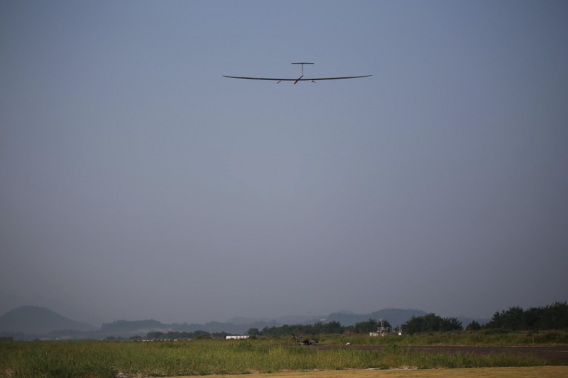 Korean Solar-Powered Drone Marks the World's Third Successful Entry into the Stratosphere