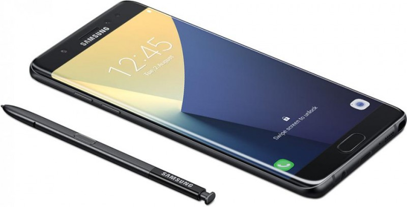Samsung Unveils Galaxy Note 7