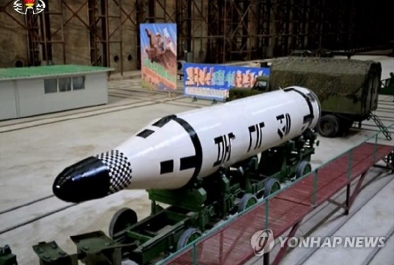 N. Korea Building Railway Long-Range Missile Launchers on Railroad: Report