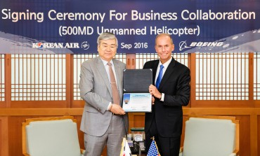 Korean Air, Boeing Team Up for Unmanned Armed Chopper