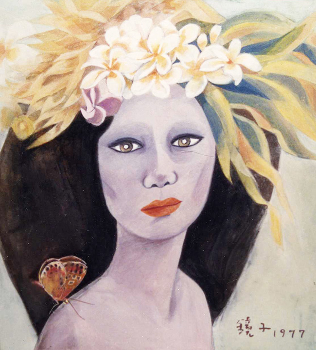 Controversy began in 1991 when Chun claimed that a painting attributed to her, which was (and has since been) on display at the Museum of Modern and Contemporary Art (MMCA), was a fake. (image: Yonhap)