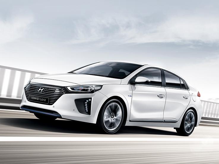 The Hyundai Ioniq hybrid (image: Hyundai Motor)