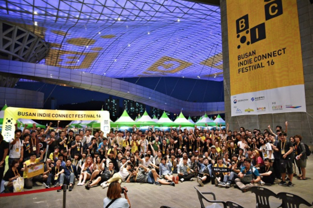 The festival introduced some 100 indie videogames from 14 different countries, including the U.S., Japan, France, Russia, and Sweden. (image: Busan IT Industry Promotion Agency)