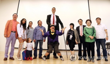 World's Tallest Man Comes to Korea