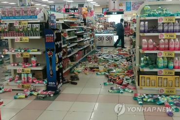 Aftermath of Korea's Historic Earthquake