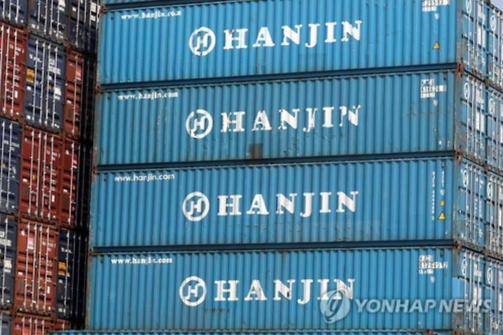 Earlier, Hanjin Group pledged to offer some 100 billion won (US$91.4 million), including 40 billion won of group Chairman Cho Yang-ho's personal assets, to help ease the cargo crisis. (image: Yonhap)
