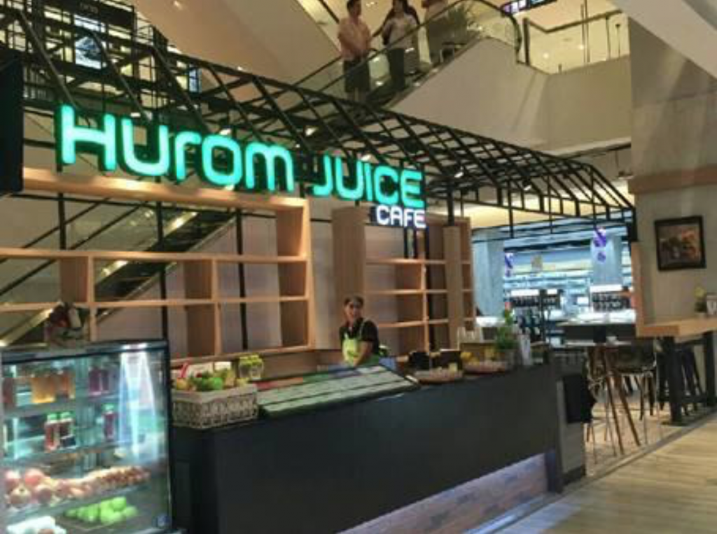 Hurom, best known for its juice extractors, has its eyes on the Thai market. (image: Hurom)