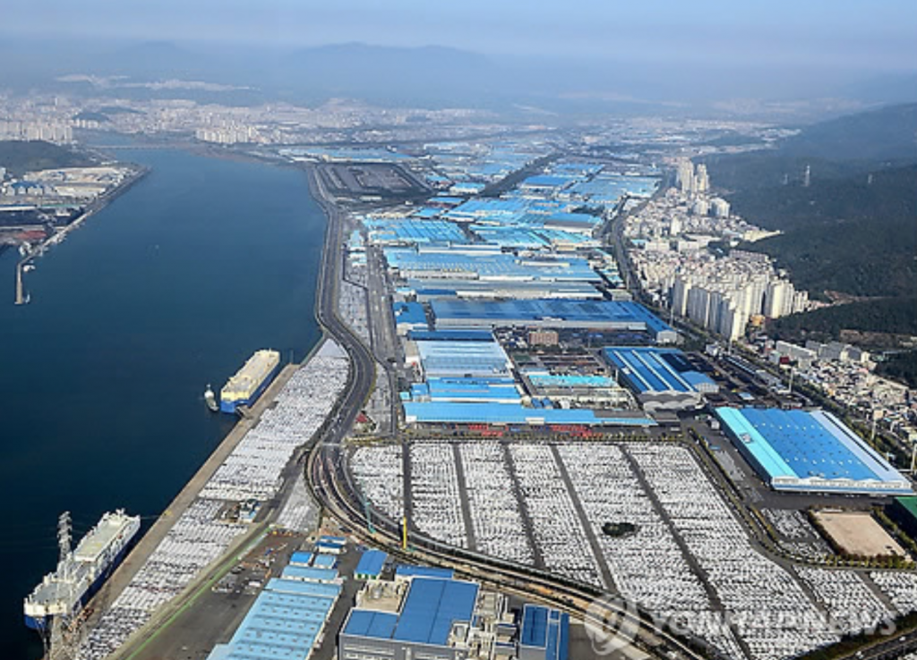 Such was also the case for Hyundai Motor after the September 12 earthquake and 4.5-magnitude aftershock on September 19, when the company halted the production line at its Ulsan factory. (image: Yonhap)