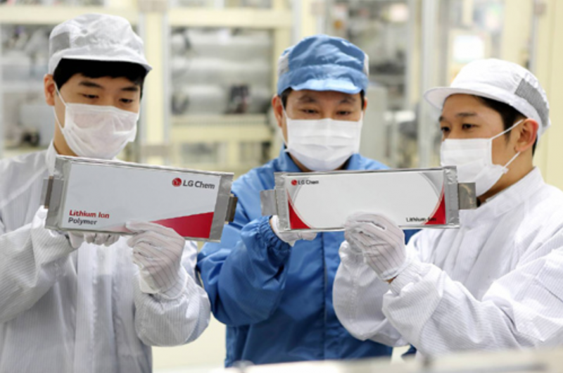 LG Chem Targets Electric Car Battery Sales of 7 Tln Won in 2020