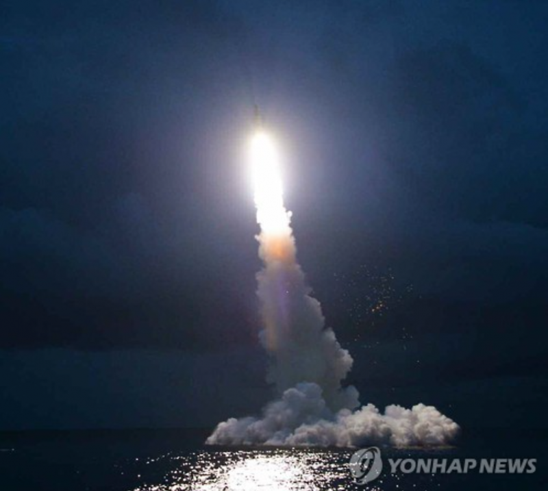 N.K. Fires off Three Ballistic Missiles into East Sea
