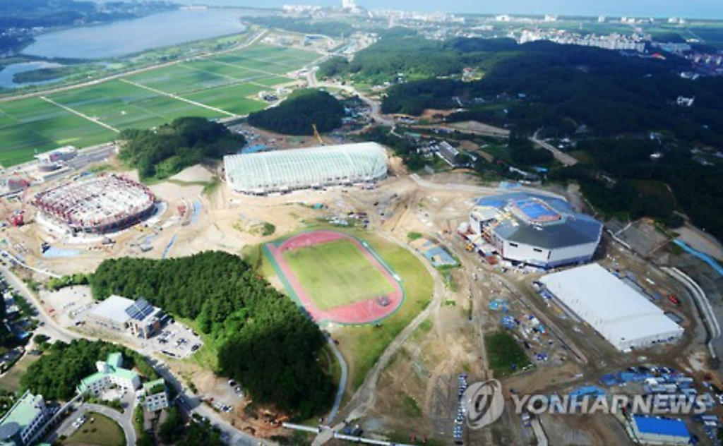 PyeongChang on Track to Complete Construction, Deliver Eco-Friendly Olympics. (image: Yonhap)