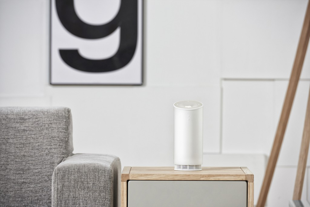 NUGU was launched on September 1 as the first virtual home assistant AI service that understands and processes the Korean language. (image: SK Telecom)