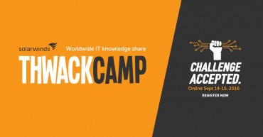 SolarWinds Invites IT Pros to Fifth Annual THWACKcamp Virtual IT Conference