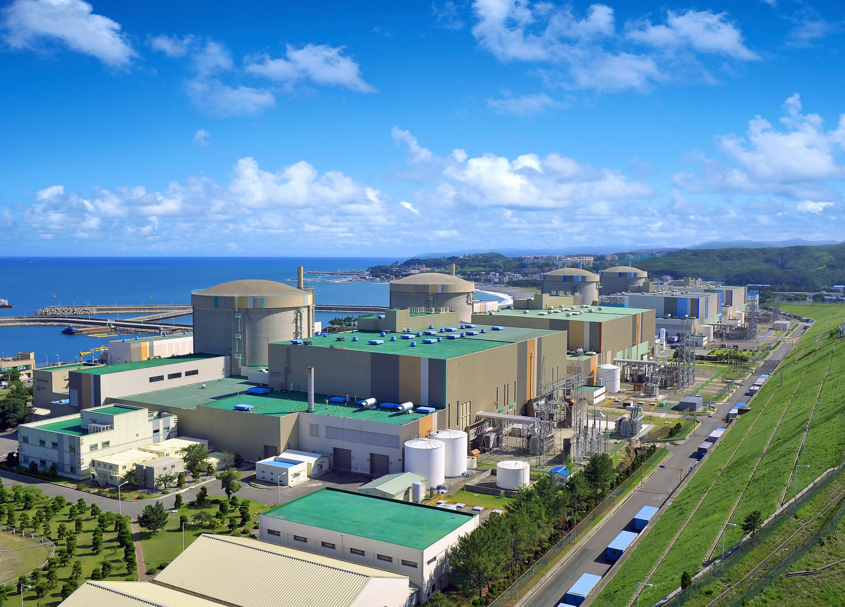 Weolseong Nuclear Power Plant in Gyeongju. (image: Wikimedia)
