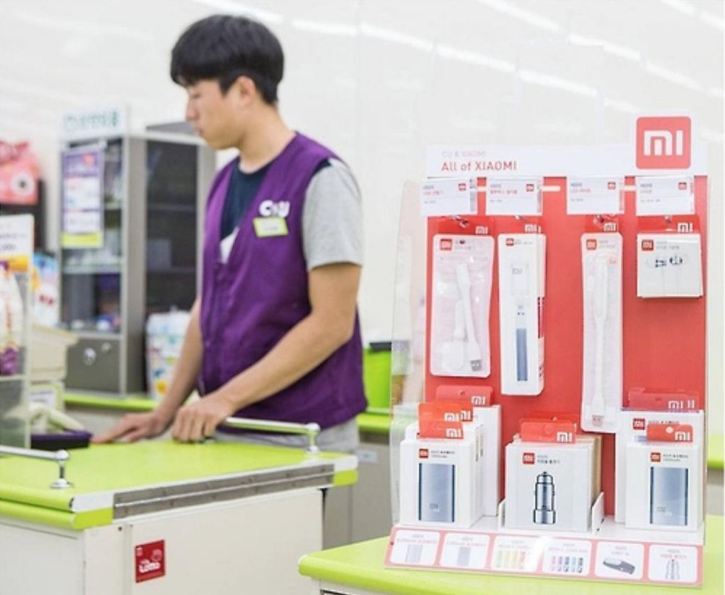 Xiaomi products have grown increasingly popular on Korea's ecommerce platforms for their affordability. The company's 5000 mAh battery pack, in particular, makes up about 80 percent of all portable battery sales on T-Mon. (image: BGF Retail)