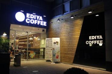 Ediya Coffee No. 1 Franchise Shop Operator in S. Korea