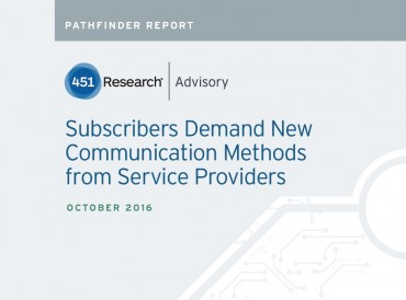"451 Research: Over 80% of Online Subscribers Prefer ""In-browser"" Communications from their Service Provider"