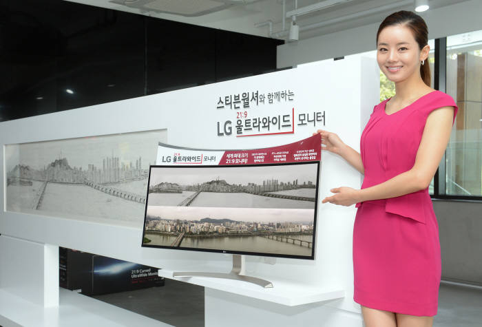 Users can resize and display multiple windows at once and customize the monitor layout for multi-screen work, it said. (image: LG Electronics)