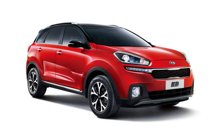 Hyundai and Kia are currently selling nine SUV models in China, including Hyundai's ix25 (Creta) compact SUV and Kia's KX3, which make up 35.6 percent of the duo's total sales in the country, an increase from 27 percent last year. (image: Hyundai)
