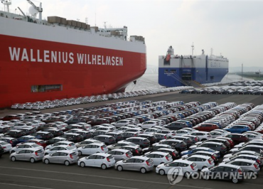 S. Korea's Passenger Car Exports Tumble 17.4 Pct in Q3