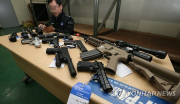 246 Firearms Seized in Smuggling Attempts This Year: Customs Service