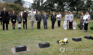 French Korean War Veteran Buried in Korean United Nations Cemetery