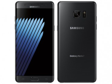 Samsung Introduces Galaxy Note 7 in Black Onyx