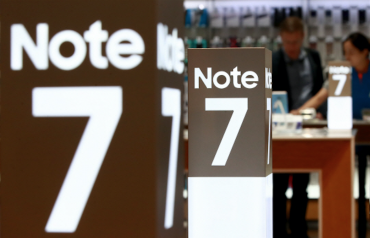 Samsung Says Faulty Battery Was Main Cause of Galaxy Note 7 Fires