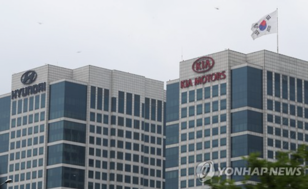 The automaking group's paycut for executives is the first since the 2008 global financial crisis. Some 1,000 executives may join the move, the official said. (image: Yonhap)