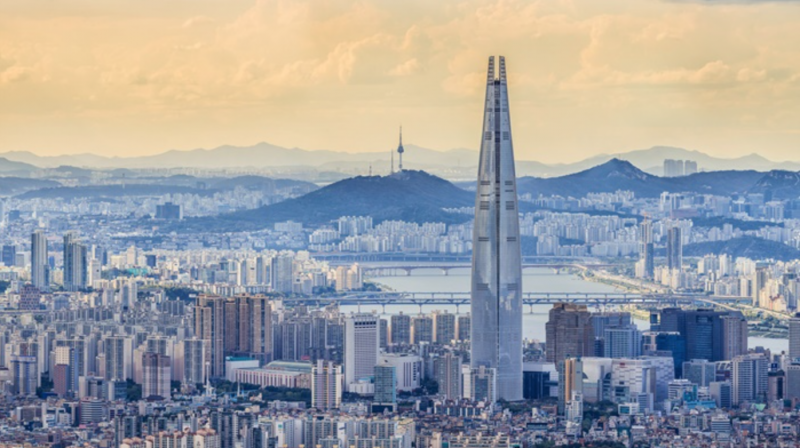 Korea's Tallest Building Nears Completion