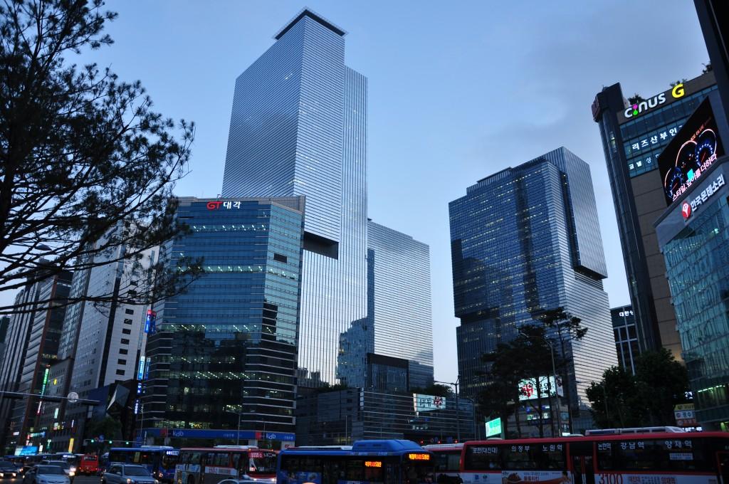 Samsung Headquarters in Gangnam, Seoul. (image: Wikimedia)