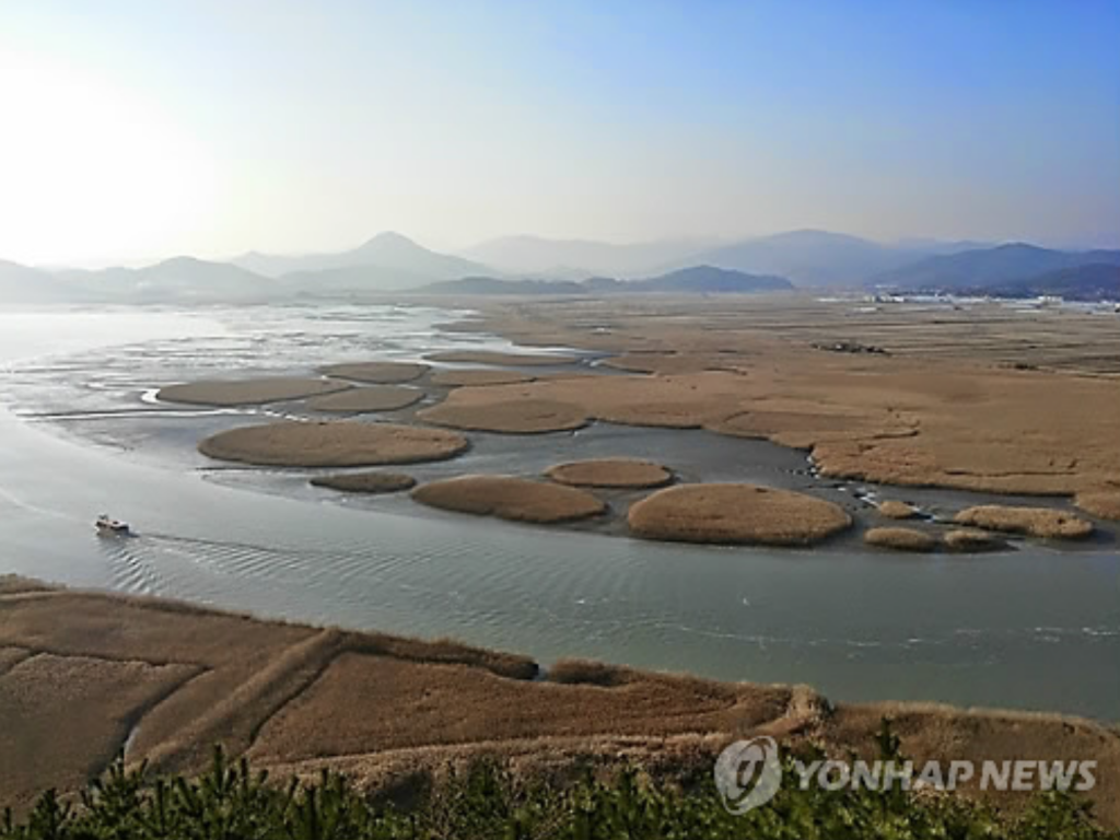 Suncheon Bay.