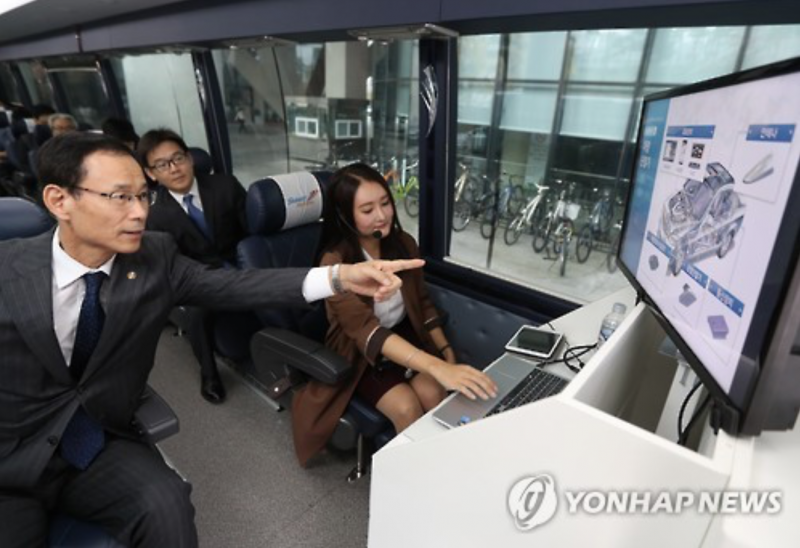Korean Government Shows Off New C-ITS Technology