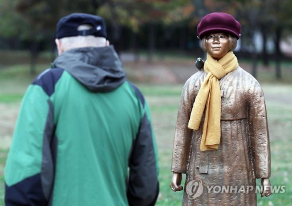 Comfort woman statue in Incheon.