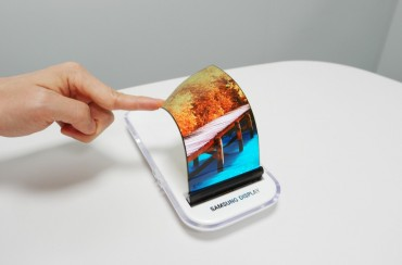 Samsung Registers Patent for Bendable Display in U.S.