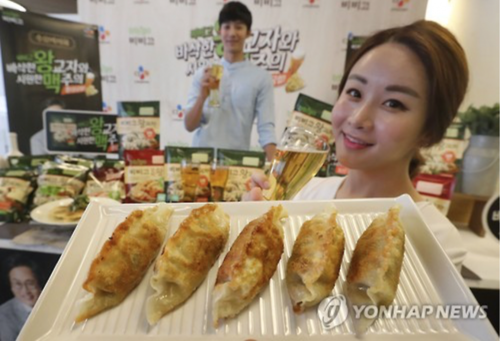 Bibigo Crispy Potstickers (CJ CheilJedang) are particularly emblematic of the trend. (image: Yonhap)