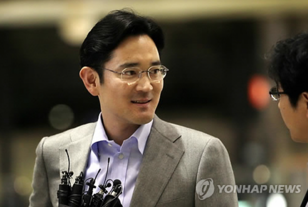 The younger Lee, a Harvard Business School graduate, joined Samsung Electronics in 1991. (image: Yonhap)